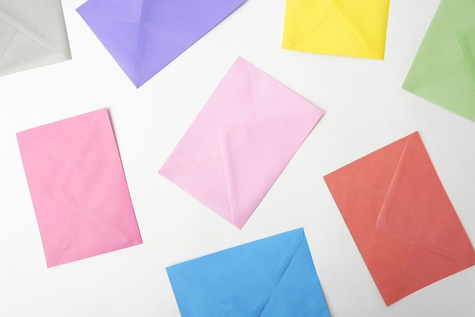 Make Your Snail Mail Beautiful: Colourful Envelopes