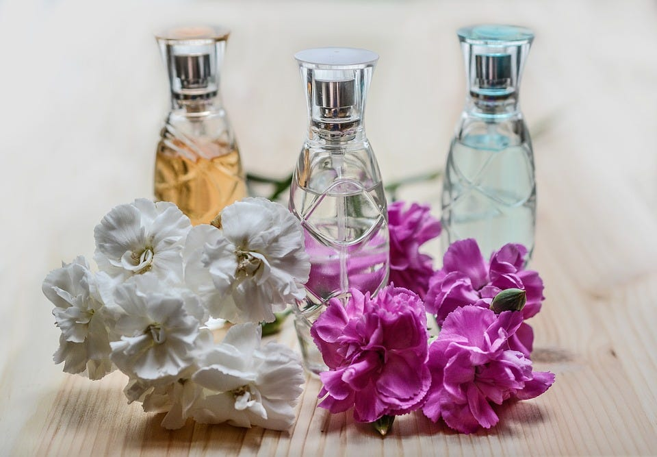 Make Your Snail Mail Beautiful: Perfume & Flowers Lifestyle